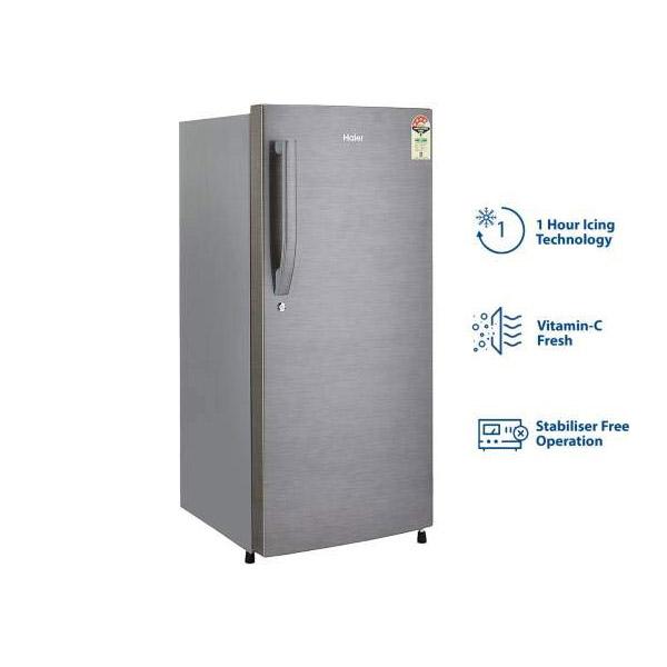 Haier 195 L Single door Refrigerator HRD-1954CBS-E