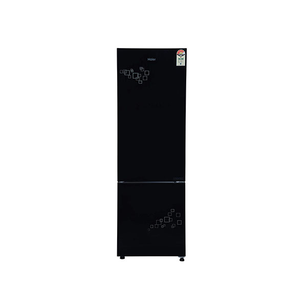 Haier 276 L 4 Star Inverter Frost-Free Double Door Refrigerator HRB-2964PMG-E, Silver