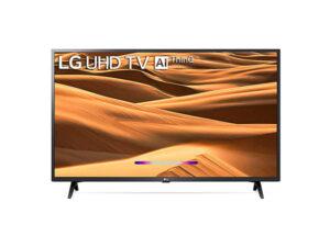 LG 108 cms 43 inches 4K Ultra HD Smart LED TV 43UM7300PTA | with Built-in Alexa PCM Black 2019 Model