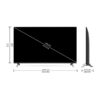 LG 139 cm (55 inches) 4K Ultra HD Smart IPS LED TV 55UN8000PTA (Ceramic Black) (2020 Model)