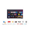 TCL 163.96 cm 65 inches 4K Ultra HD Smart Certified Android LED TV 65P8E Black 2019 Model