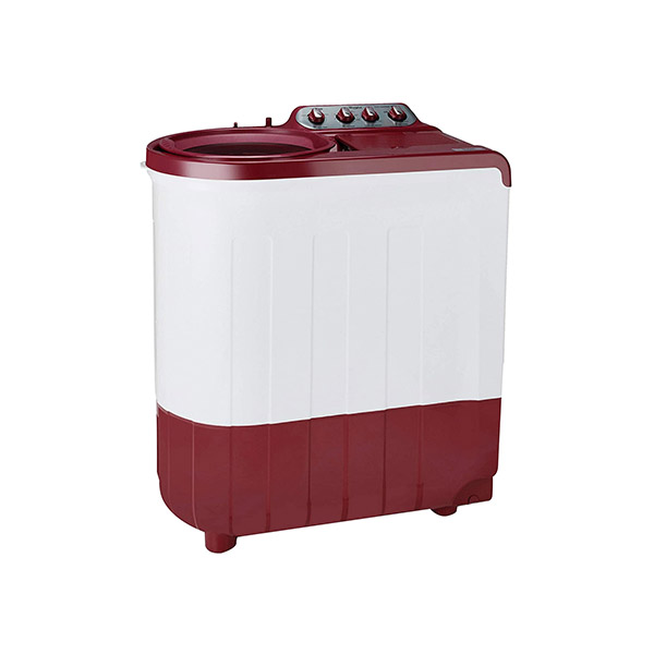 Whirlpool 7.5 kg 5 Star Semi-Automatic Top Loading Washing Machine ACE SUPER SOAK 7.5, Coral Red, Supersoak Technology