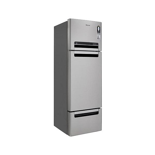 Whirlpool 330L Frost Free Multi-Door Refrigerator FP 343D PROTTON ROY ALPHA STEEL N, Alpha Steel