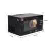 Haier 23 L Convection Microwave Oven HIL2301CBSB, Black