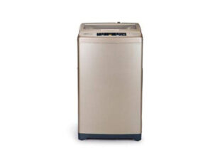 Haier 6.5 Kg Fully-Automatic Top Loading Washing Machine HWM65-707GNZP, Champaign gold)