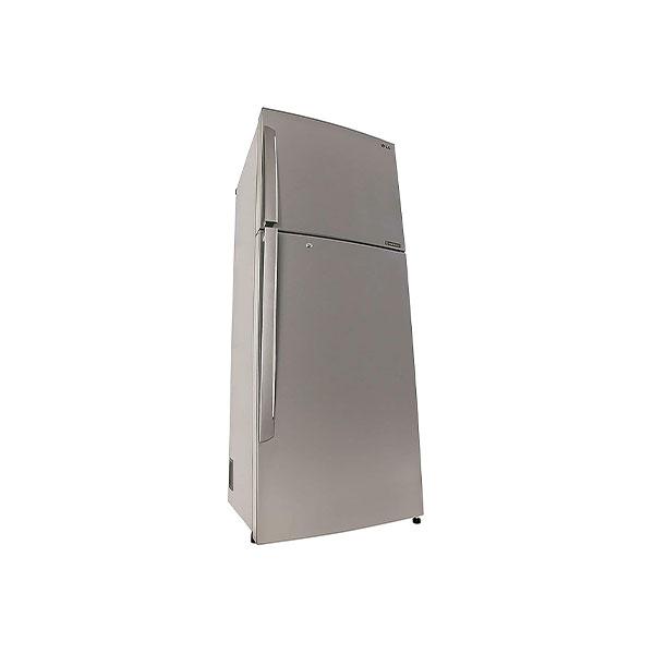 LG 420 L 3 Star Frost Free Double Door RefrigeratorGL-I472QPZX.DPZZEBN, Shiny Steel, Inverter Compressor