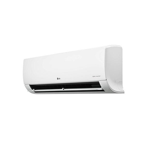 LG 1.0 TR 4 Star Inverter Copper Convertible 4-in-1 Cooling Split AC White