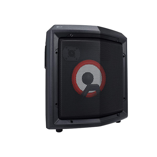 LG RL2 Bluetooth Party Speaker with Trolley and Party Lighting Black