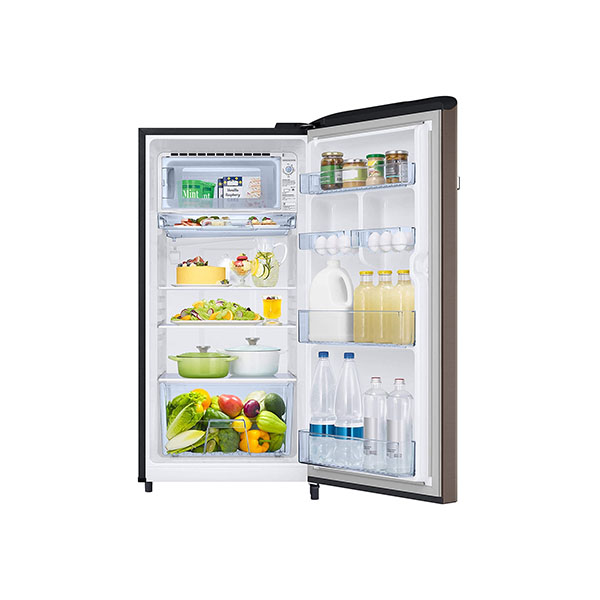 Samsung 198 L 3 Star Direct-Cool Single Door Refrigerator RR21T2G2YDX/HL, Luxe Brown