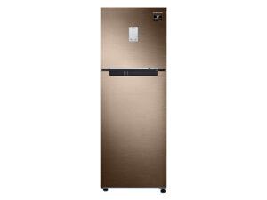 Samsung 244 L 2 Star Inverter Frost-Free Double Door Refrigerator (RT28T3522DU/HL, Luxe Bronze)