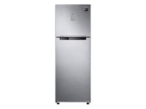 Samsung 275 L 2 Star Inverter Frost-Free Double Door Refrigerator RT30T3722S8/HL, Elegant Inox, Convertible