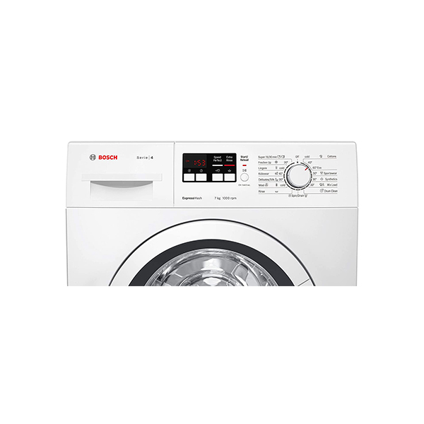 Bosch 7 kg Fully Automatic Front Load with In-built Heater White WAK2016WIN