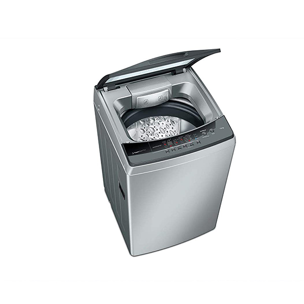 Bosch 7 kg Fully Automatic Top Loading Washing Machine WOA702S0IN, Silver