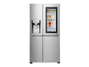 LG 668 L Frost Free Side-by-Side InstaView Door-in-Door RefrigeratorGC-X247CSAV, Noble Steel, Inverter Compressor