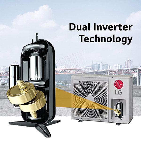 LG IDU- 1.5 Ton 5 Star WIFI Inverter Split Ac