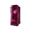 Samsung 192 L 2 Star Direct Cool Single Door Refrigerator Blooming Saffron Red