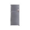 LG REF-437L 2* Convertible PLUS, SHINY STEEL,Double Door