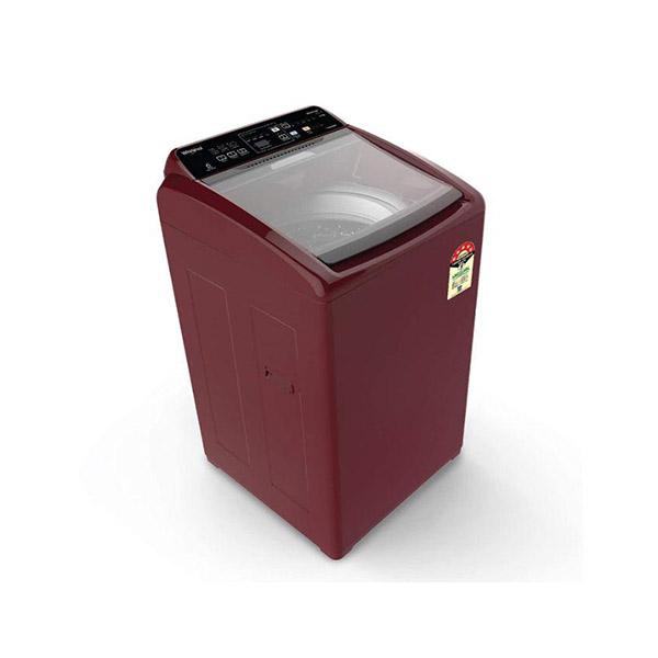 Whirlpool 6.5 kg Fully-Automatic Top Loading Washing Machine with (White magic Elite Plus, Wine)