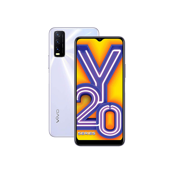 Vivo Y20i Dawn White, 3GB RAM, 64GB Storage