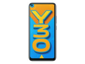 Vivo Y30 Emerald Black, 4GB RAM, 128GB Storage
