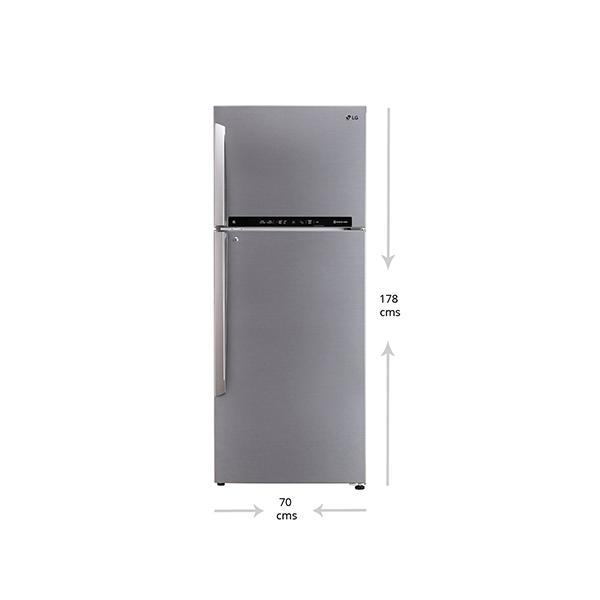 LG REF - 471L 3* Shiny Steel
